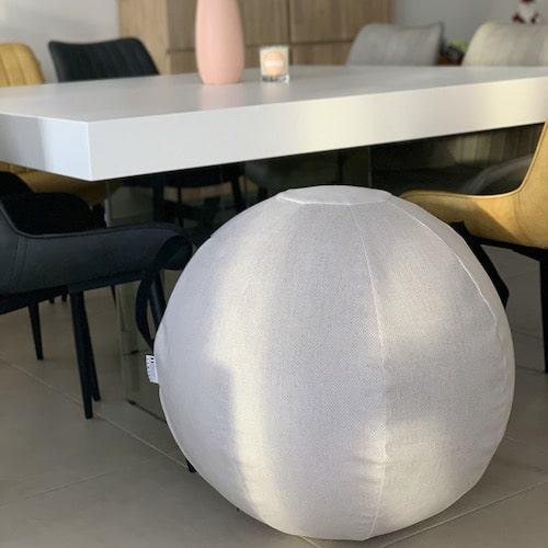 Housse siege ballon gris